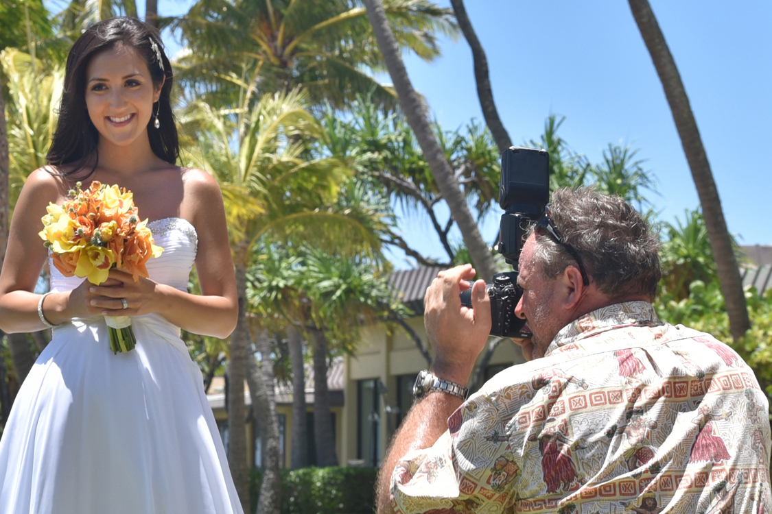 Beautiful Hawaii Wedding Photos