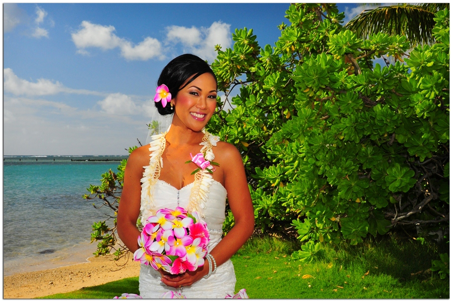 Beautiful Hawaiian Bride