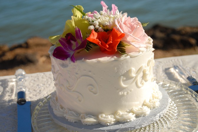 Hawaii Wedding Cakes