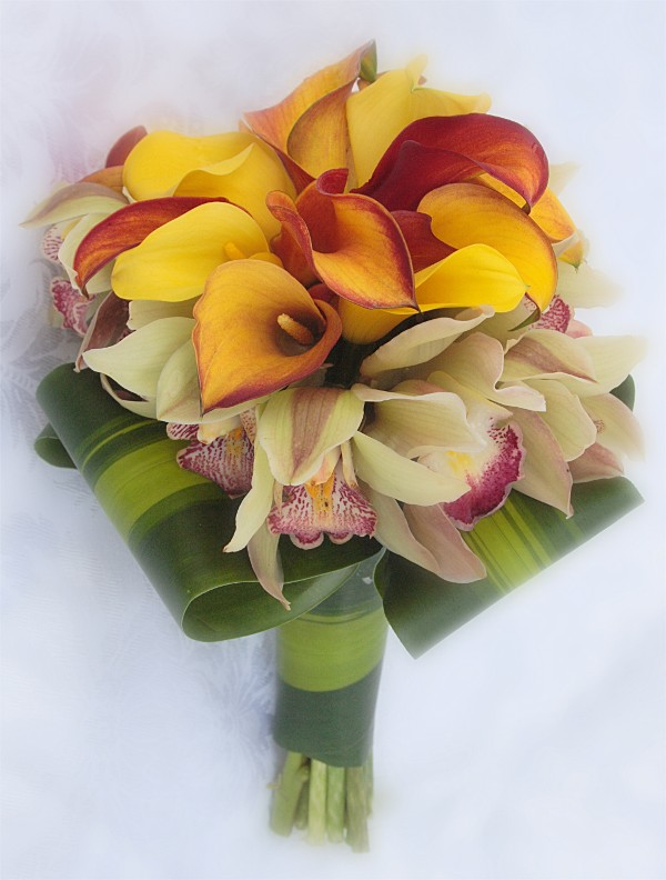 Cymbidium Lily Bouquets