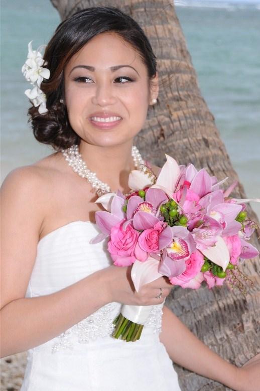 Bridal Dream Hawaii Flower Bouquets