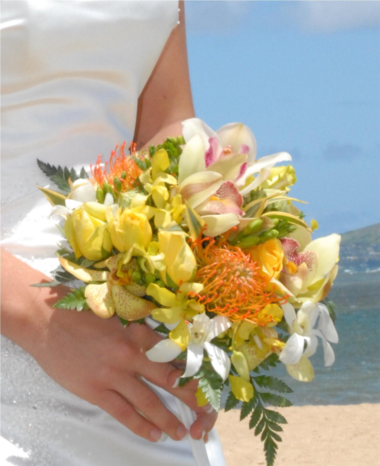 Hawaii Wedding Flowers By Bridal Dream Hawaii