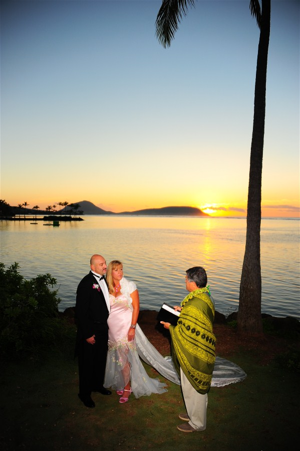 Waialae Sunrise Wedding