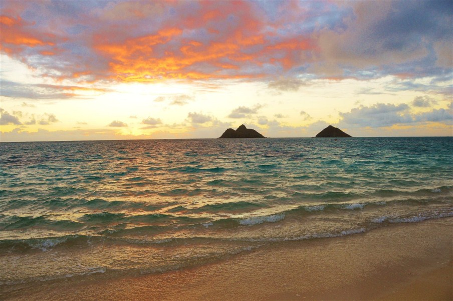 Lanikai Sunrise Wedding