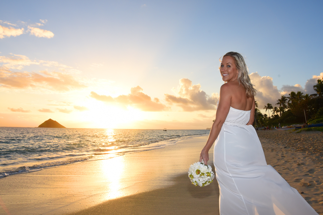 lanikai sunrise weddings by bridal dream hawaii