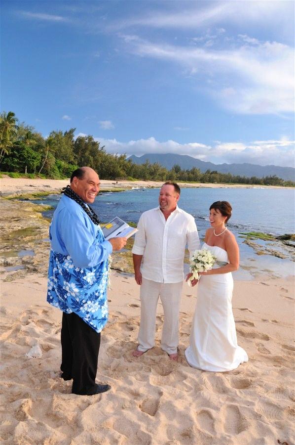 Hawaiian Beach Weddings