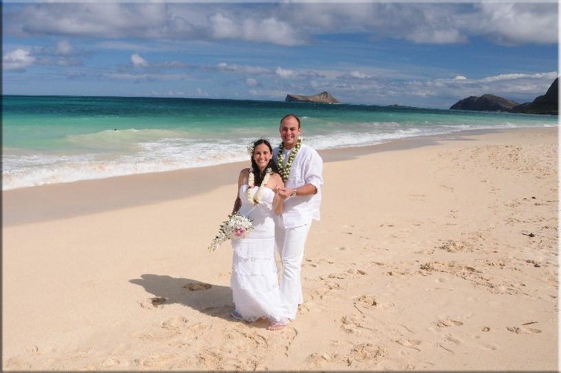 Beach Wedding Ceremony Oahu: Waimanalo Beach Weddings By Bridal Dream Hawaii