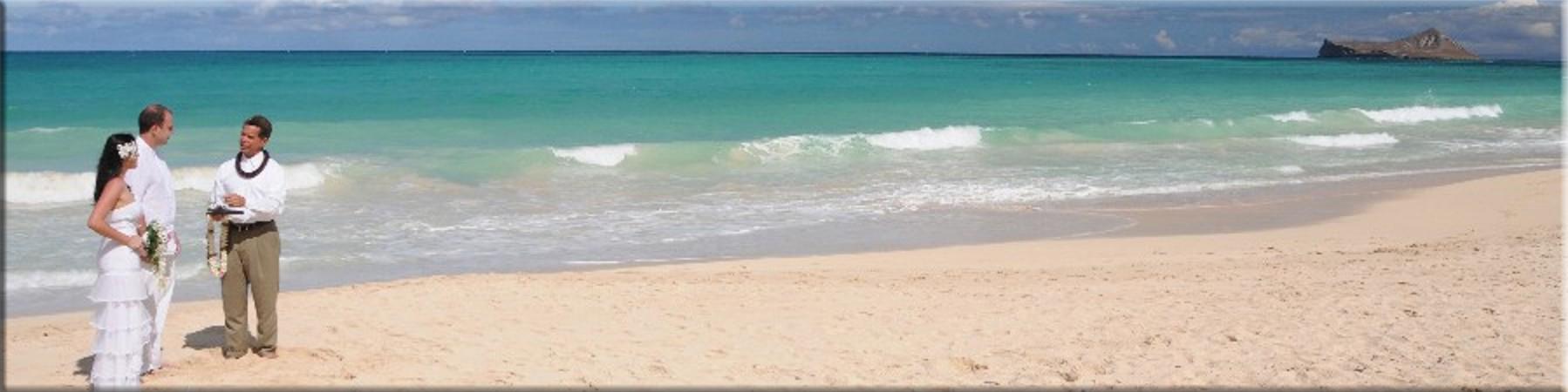 Waimanalo Beach Weddings - by Bridal Dream Hawaii