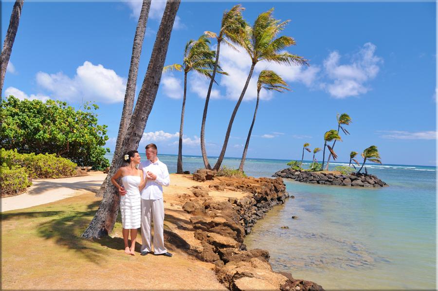 Deluxe Oahu Wedding Package Kahala Beach